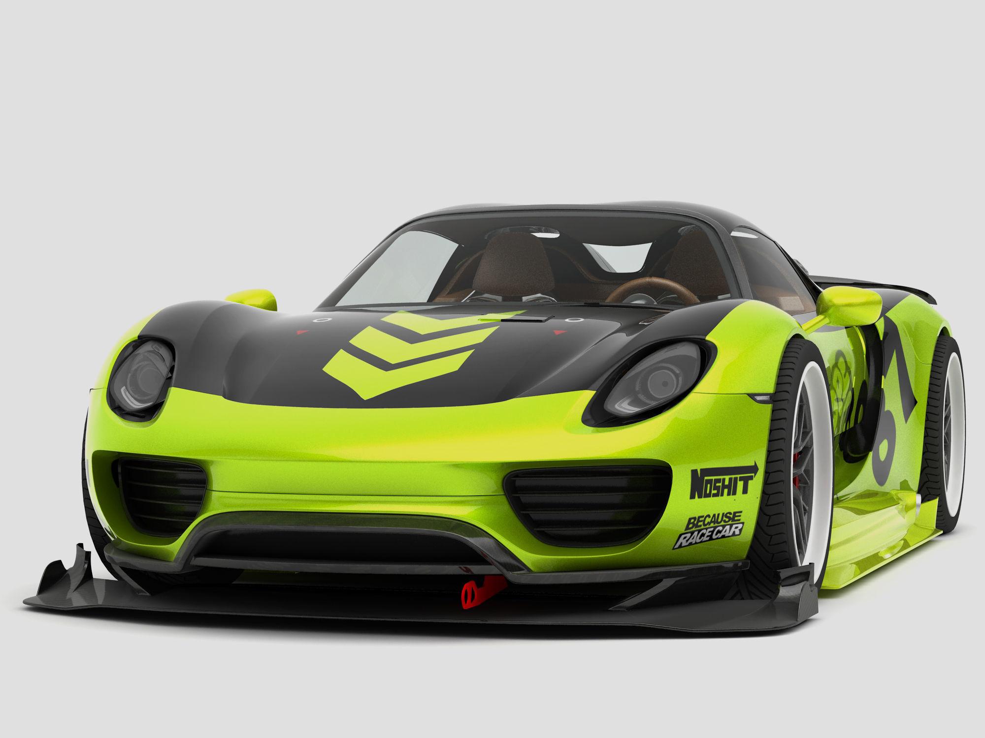 Chimera One Porsche 918 Street race concept