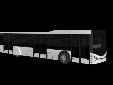 3D City bus model