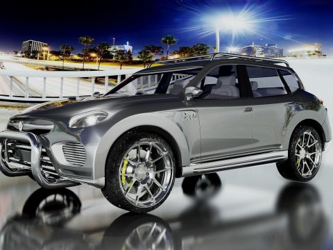 DAV Jeep 2017 3D model