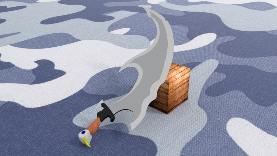 Destroyer sword 3D model