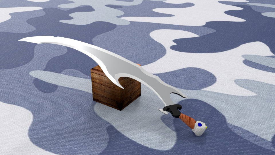 3D Destroyer sword model