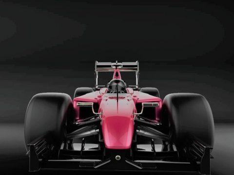 Formula 1 2017 3D model