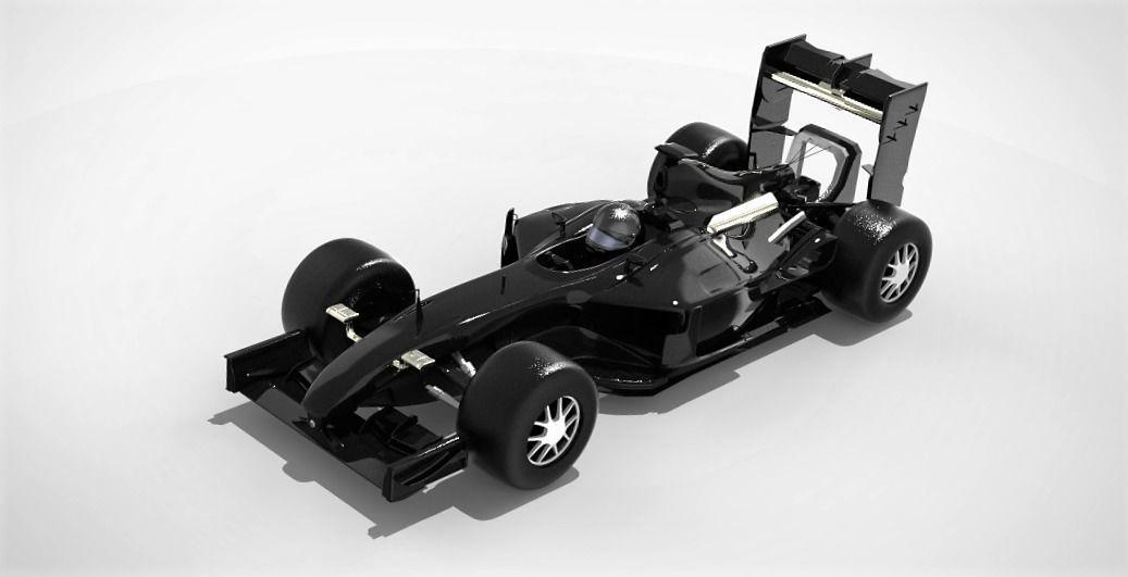 3D Formula 1 2017 model