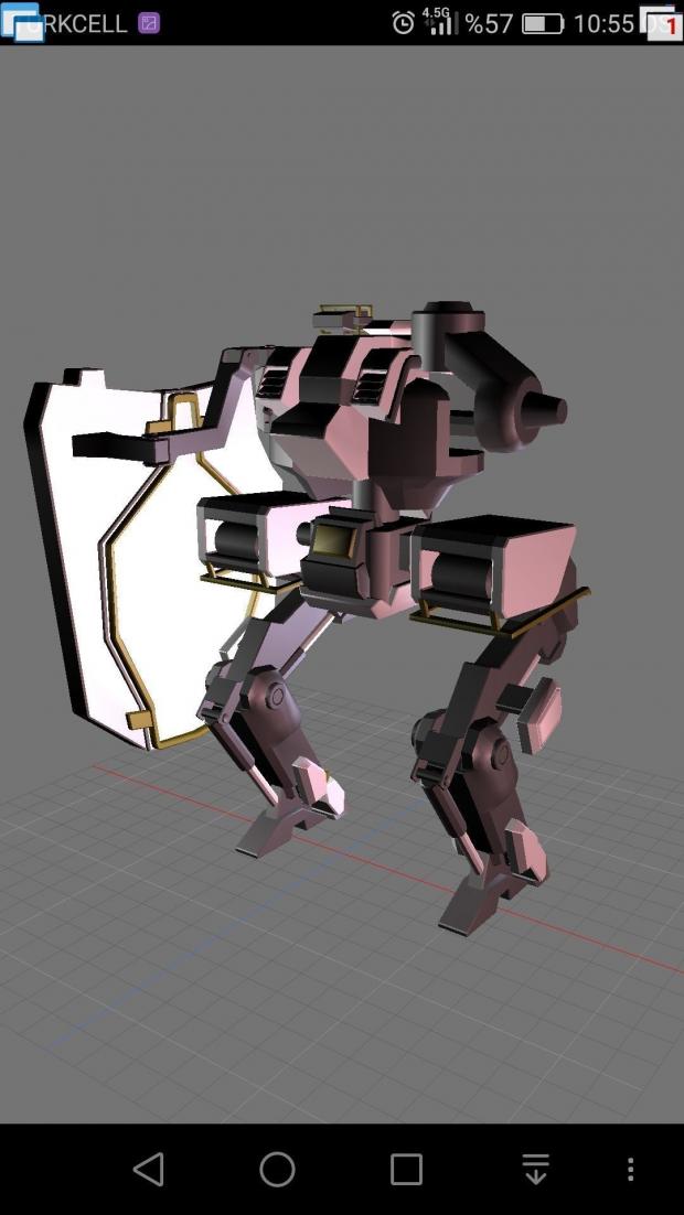 Gareth 3D model