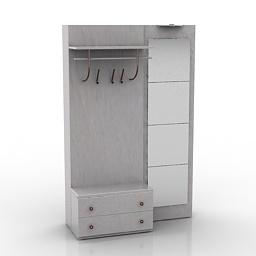 Hall 3d model