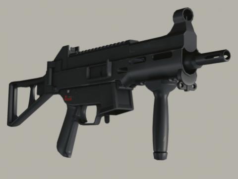 Hk UMP 45 3D model