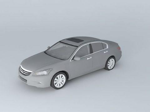 Honda Accord 3.5 SV 2011 3D model