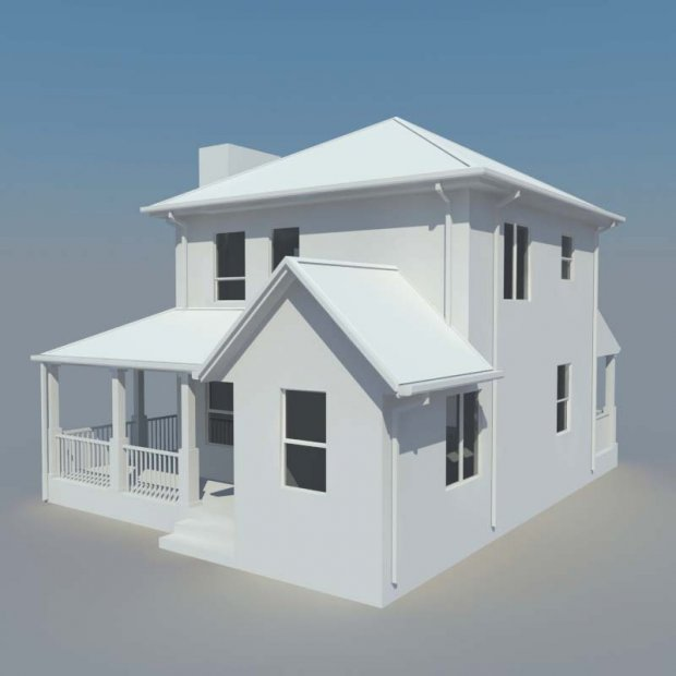 Lovely 3D House Model