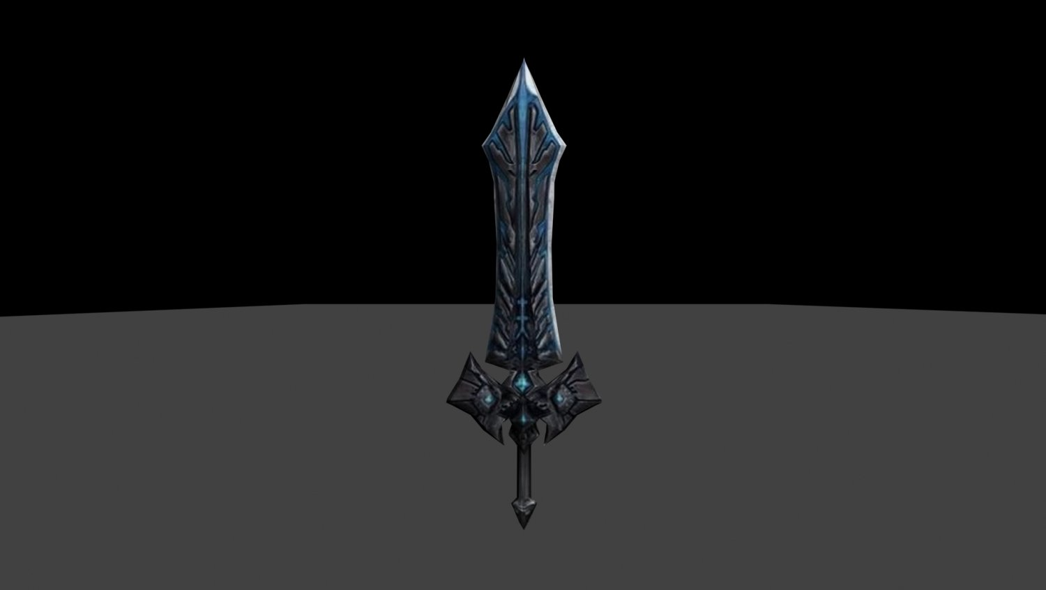 Ice Long Sword 3D model