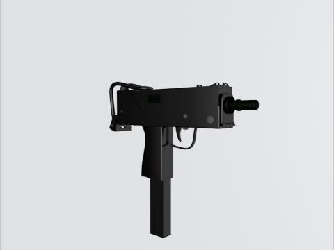 Ingram Mac 10 3D model