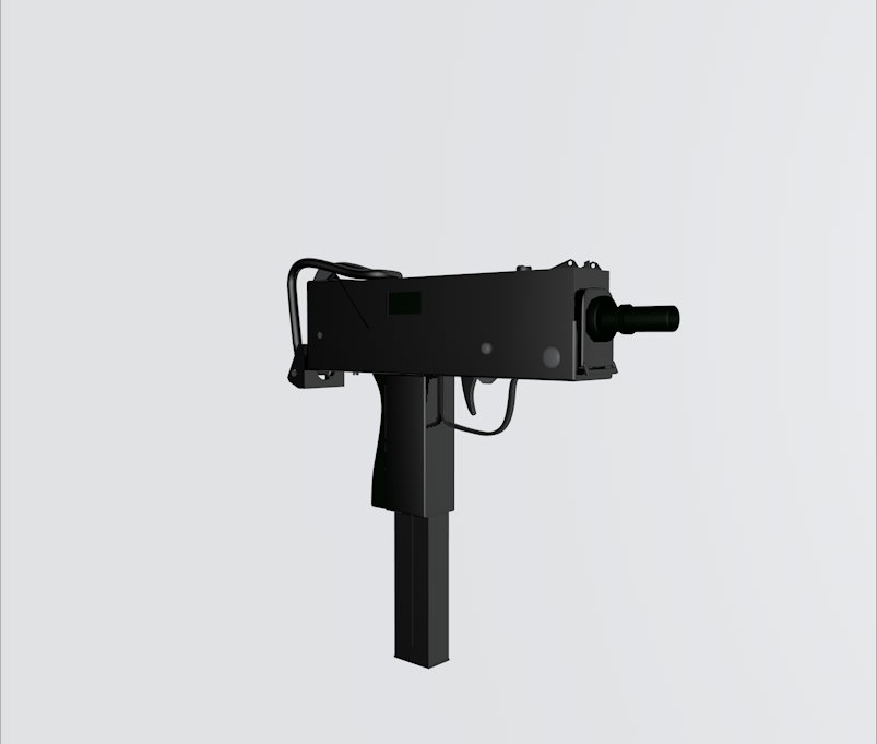 Ingram Mac 10 3D model