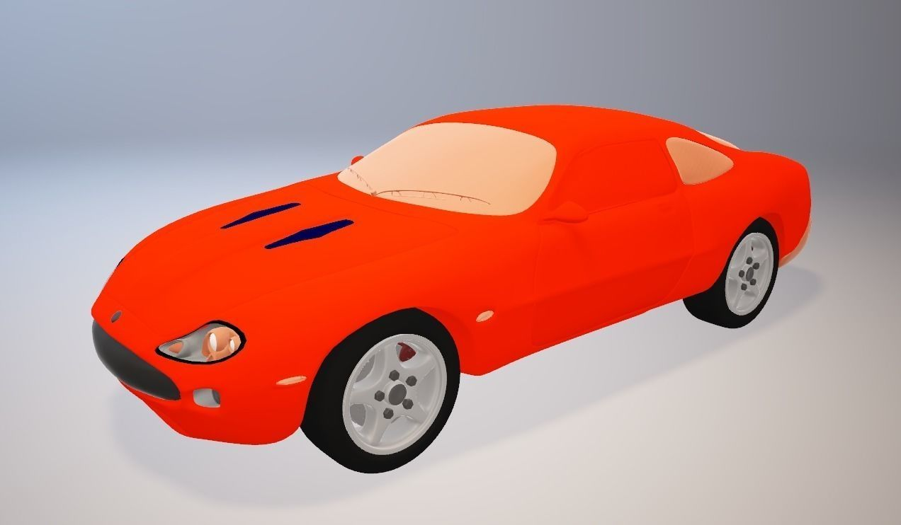 Jaguar XKR 2000 3D model