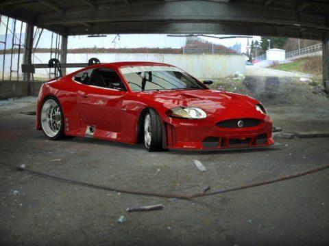 Jaguar XKR GT2 3D model