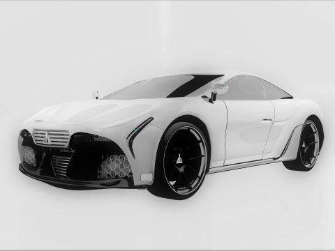Javi automotive concept 3D model