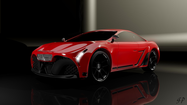 3D Javi automotive concept model
