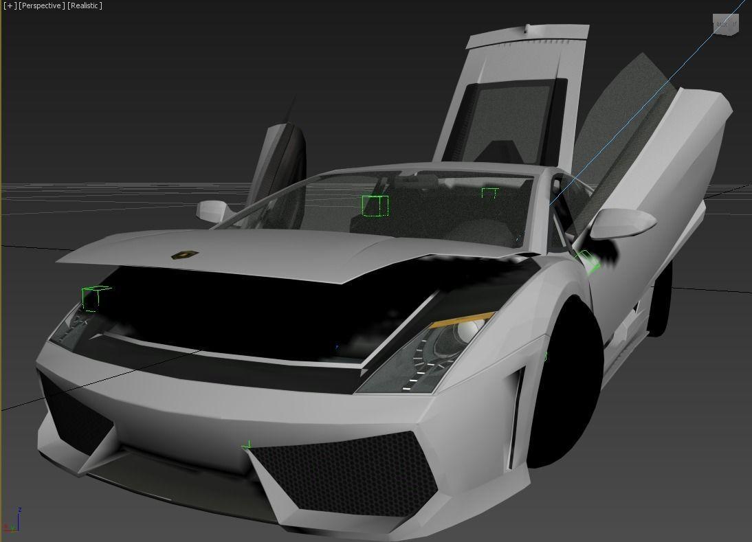 Lamborghini LP560 Gallardo 3D model