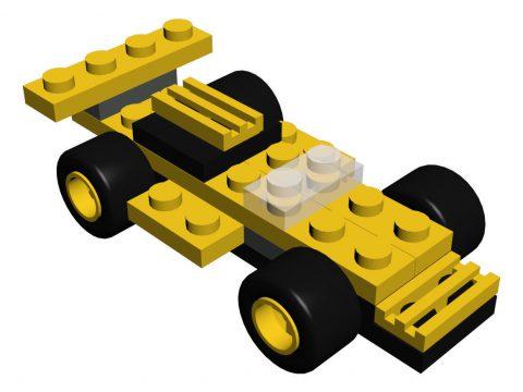 Lego 4096 Micro Wheels 3D model