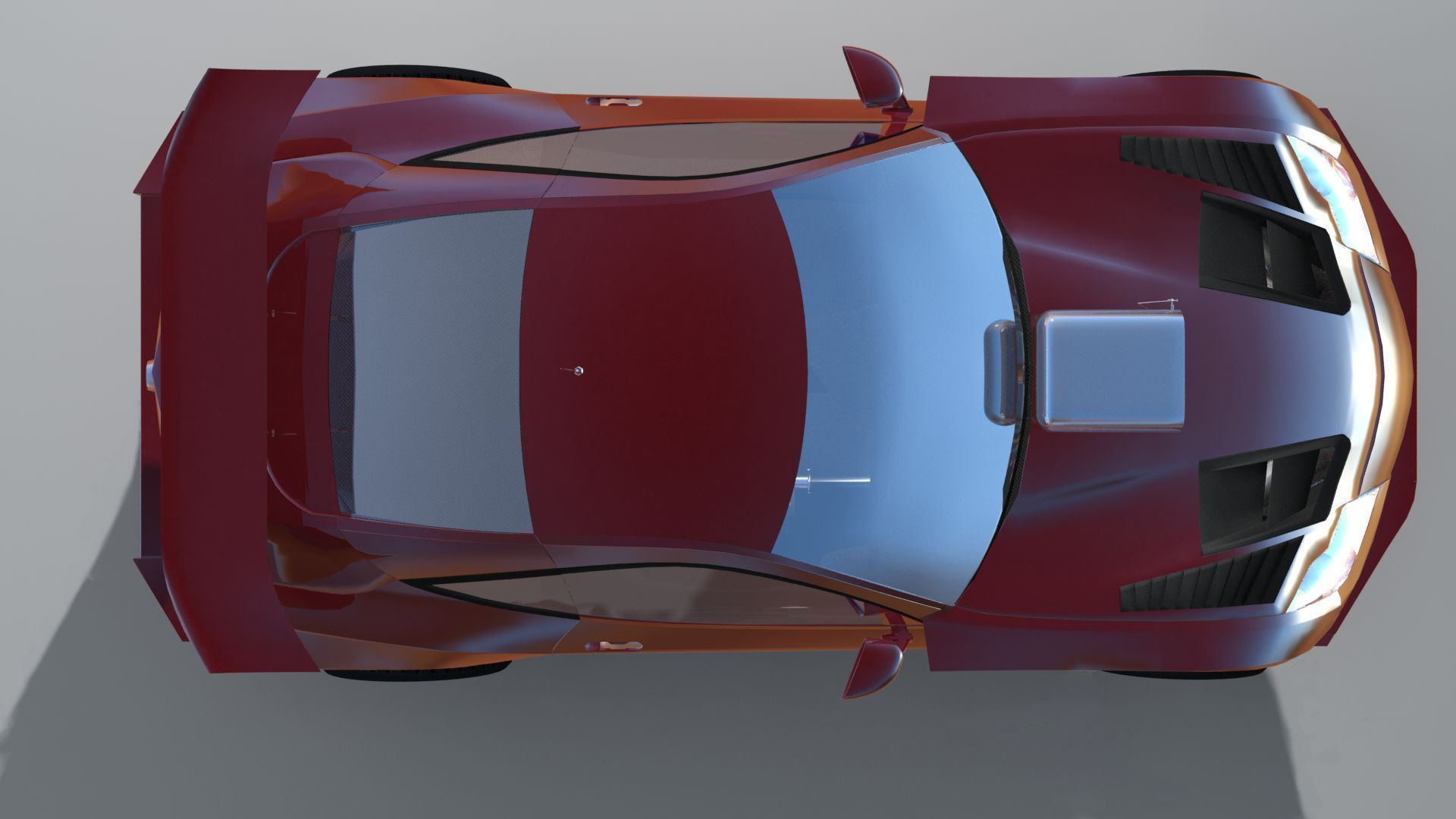 Low Poly Race Car
