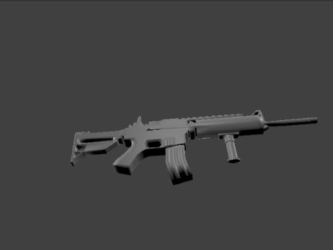M4A1 Armed Forces 3D model
