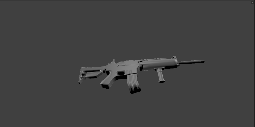 M4A1 Armed Forces 3D model