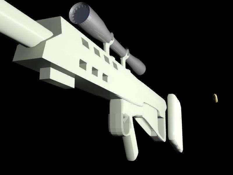 M95 Sniper rifle