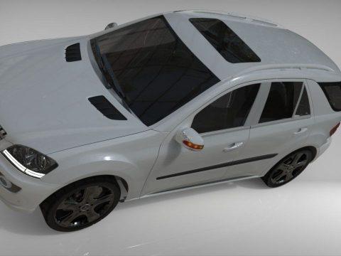 3D Mercedes ML model