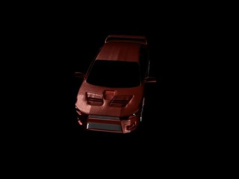 Mitsubishi Evo X 3D model