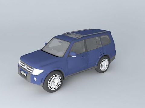 Mitsubishi Pajero 3.8 V6 3D model