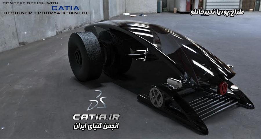 Orax car Concept 3D model