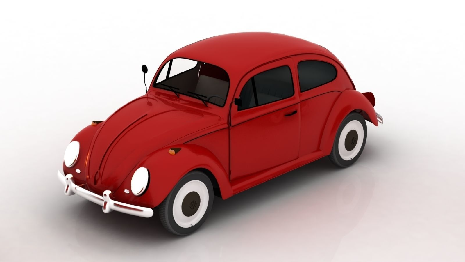 Red Beetle Free 3d Models