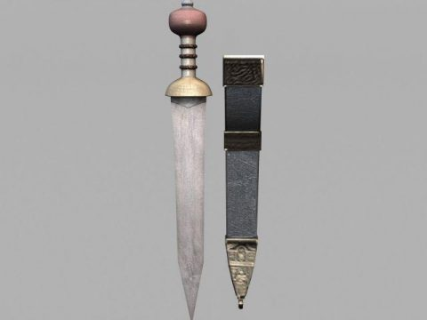 Roman Sword Gladius 3D model
