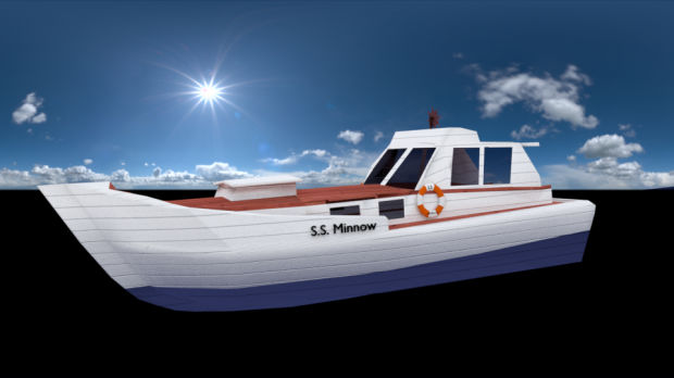 S.S MINNOW BOAT 3D model