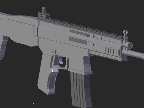 SCAR L 3D model