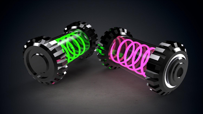 Sci-fi Liquid Nuclear Grenade 3D model