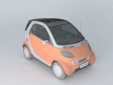 Smart For Two 3D model