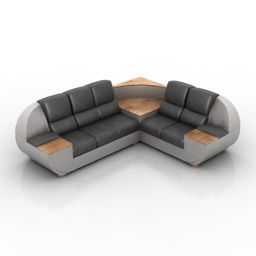Sofa DODGE 3d model