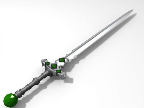 Sword Awndut 3D model