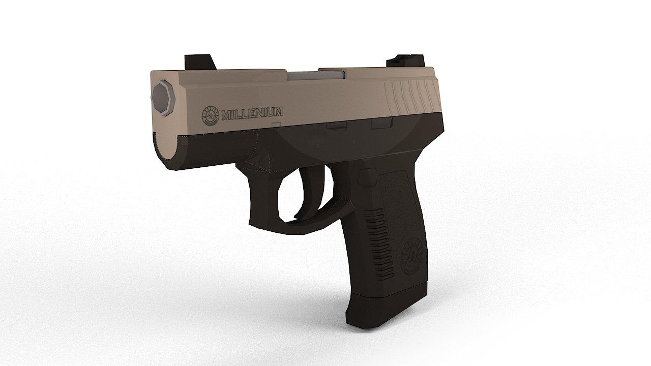 Taurus PT320 3D model