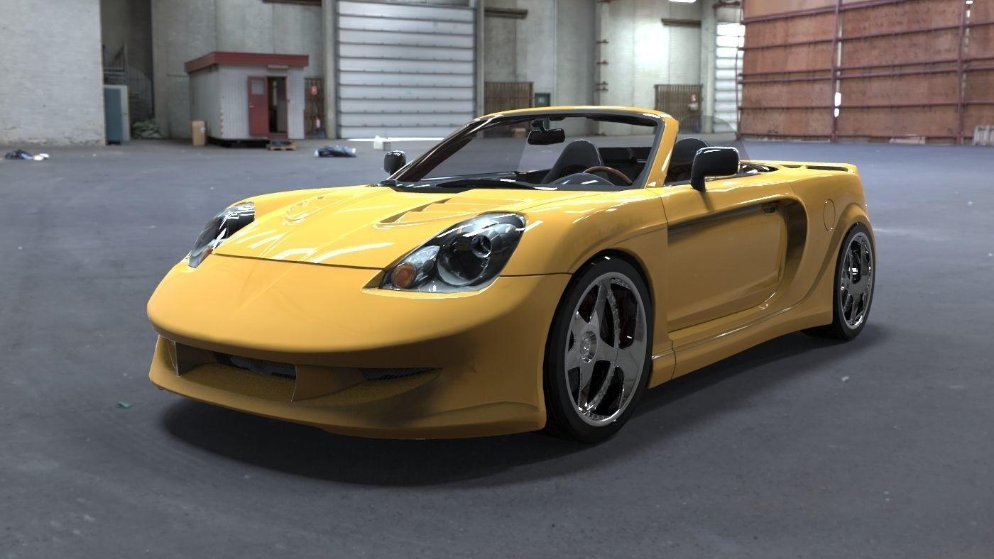 Toyota MRS 3D model