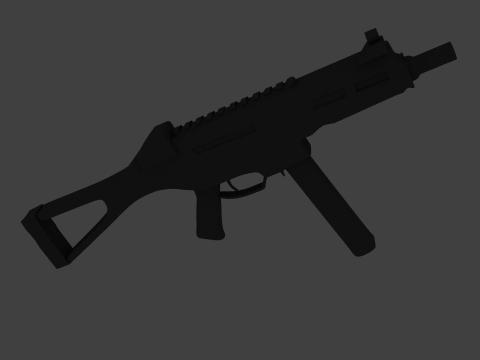 UMP 45 3D model