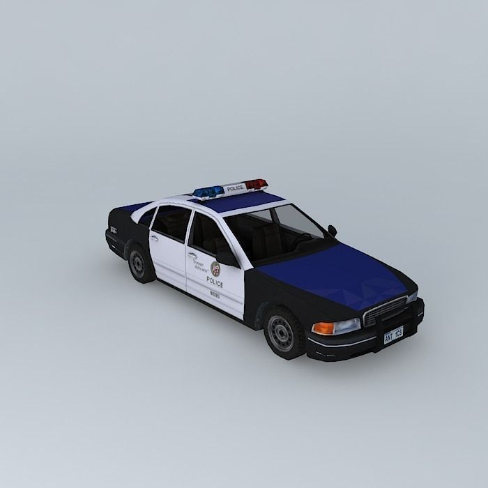 Us Police Car Solar Electric Conversion Free 3d Models
