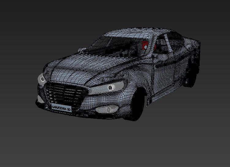 3D Mazda model