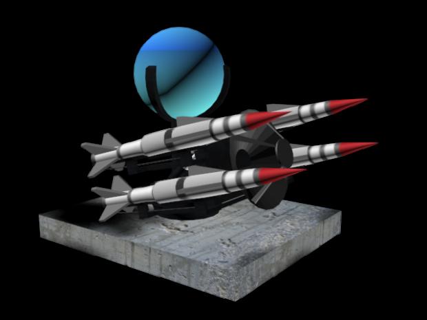 Rapier missile system 3D model