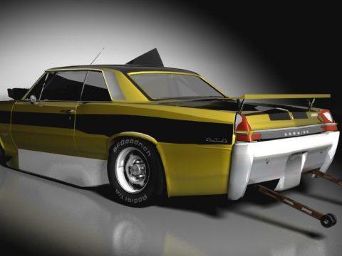 1965 Pontiac Bee Edition 3D model
