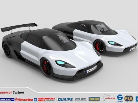 5G SCS 3D model