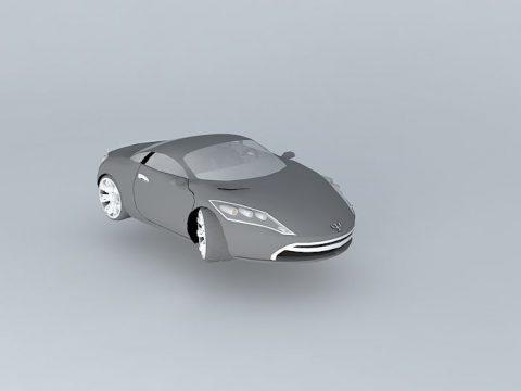Afton Cruzette 3D model