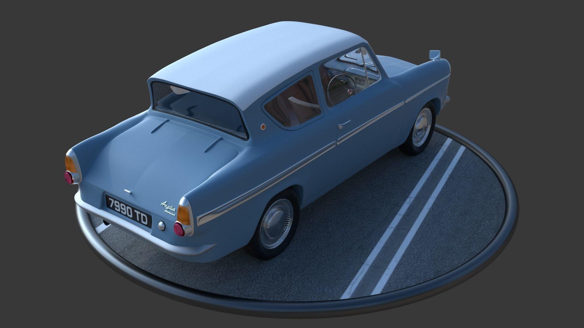 3D Anglia 105e model