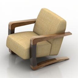 Armchair light 3d model