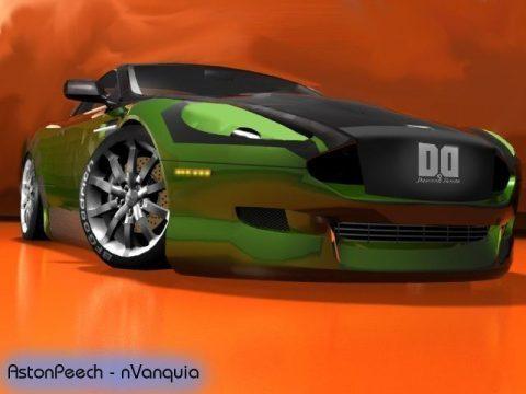 3D Aston Martin nVidia Edition model
