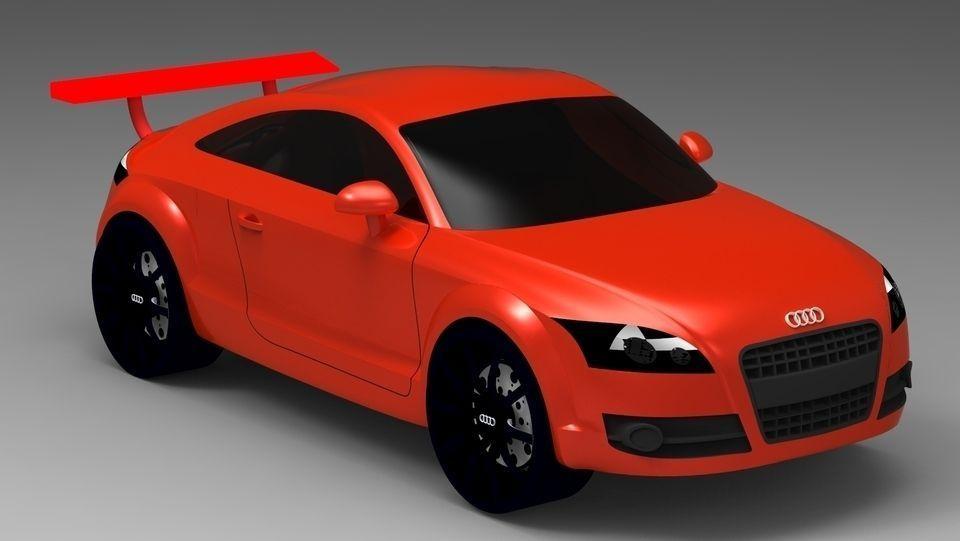 Audi TT 3D model